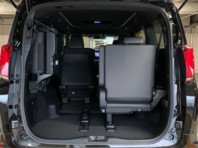2.5S タイプゴールド 登録済未使用車 トヨタセーフティセンス 9型ディスプレイオーディオ バックカメラ 両側電動スライドドア デジタルインナーミラー 電動リアゲート LTA BSM クリアランスソナー 三眼LED(17枚目)