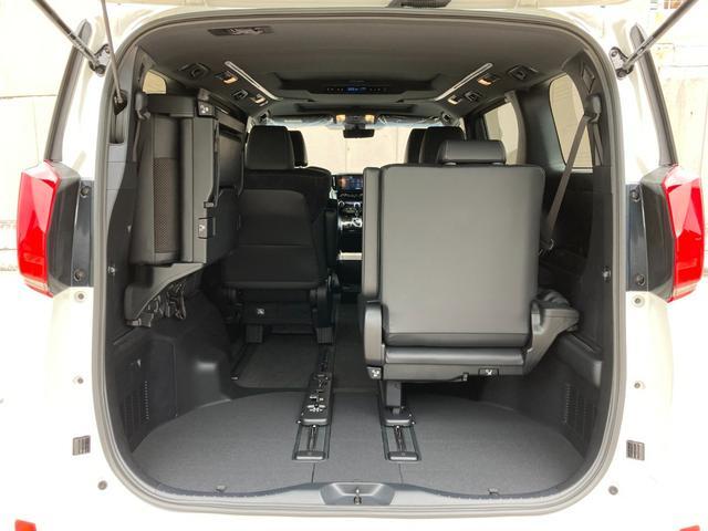 2.5S タイプゴールドII 登録済み未使用車 ツインムーンルーフ デジタルインナーミラー BSM RCTA 9型ディスプレイオーディオ バックカメラ セーフティセンス 両側電動 電動リアゲート 3眼LED 100V電源(17枚目)