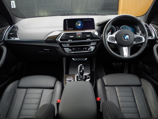 xDrive 20d Mスポーツ 黒革 アクティブクルーズコントロール ヘッドアップディスプレイ トップビューカメラ インテリジェントセーフティー パワーバックドア 純正ナビ フルセグ(3枚目)