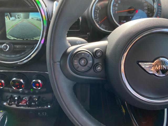 クーパーD クラブマン 追従式クルーズコントロール バックカメラ ETC スペアキー 純正HDDナビ LEDヘッドライト(15枚目)