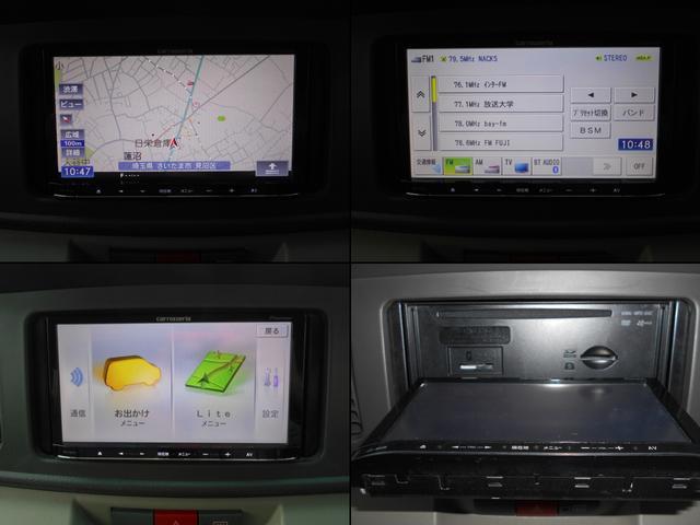 カスタムターボRSリミテッド ナビTV Bluetooth Audio  キーレス ETC 禁煙車 ターボ DVD フルセグ メモリーナビ 記録簿 左側パワースライドドア サイドバイザー ドラレコ 社外キャリア(10枚目)