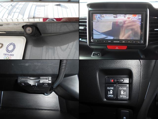 G・ターボAパッケージ 社外メモリーナビ Bluetooth 衝突軽減ブレーキ クルコン フルセグ ETC スマートキー バックカメラ メモリナビ 両側自動ドア HID オートライト ターボ ナビ&TV 禁煙車(11枚目)