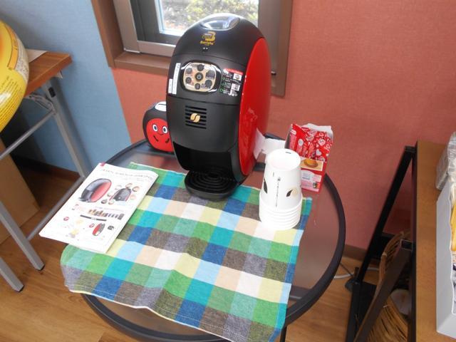 ネスカフェバリスタで、できたてのコーヒーをお楽しみください。