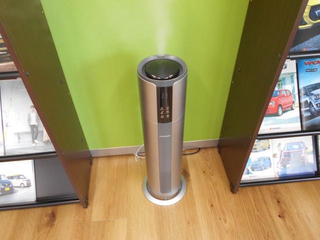コロナ対策により、店内の湿度を常時50%以上に管理しております。安心してご来店ください。