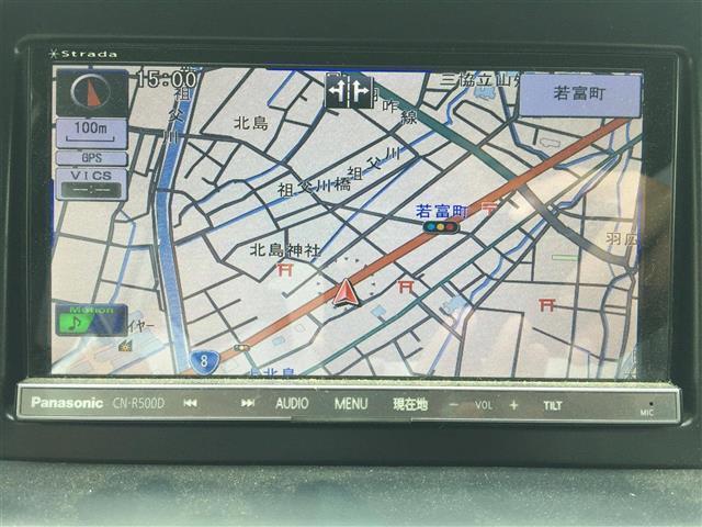 【社外SDナビ】運転がさらに楽しくなりますね♪DVD再生可能◆