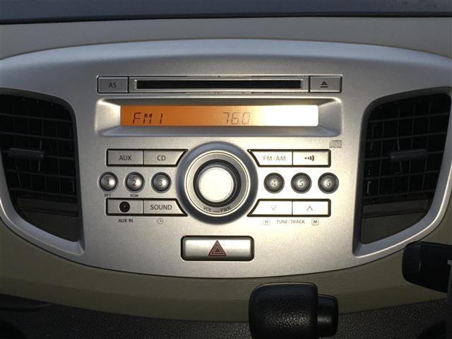 FX 純正CDオーディオ/CD/AM/FM/AUX/アイドリングストップ/ハロゲンヘッドライト/ヘッドライトレベライザー/リモコンキー/純正フロアマット/電動格納式ミラー/ドアバイザー/取扱説明書(6枚目)