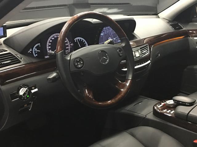 S550ロング・黒革シート・全席イージークローザードア(3枚目)