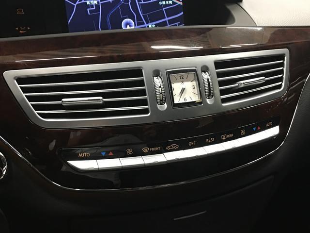 S550ロング・黒革シート・全席イージークローザードア(9枚目)