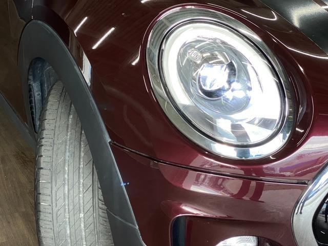 クーパーS クラブマン 純正HDDナビ リヤビューカメラ パークディスタンスコントロール 衝突軽減ブレーキ コンフォートアクセス アダプディブクルーズコントロール 純正OP黒AW LEDヘッドライト 純正フロアマット(25枚目)