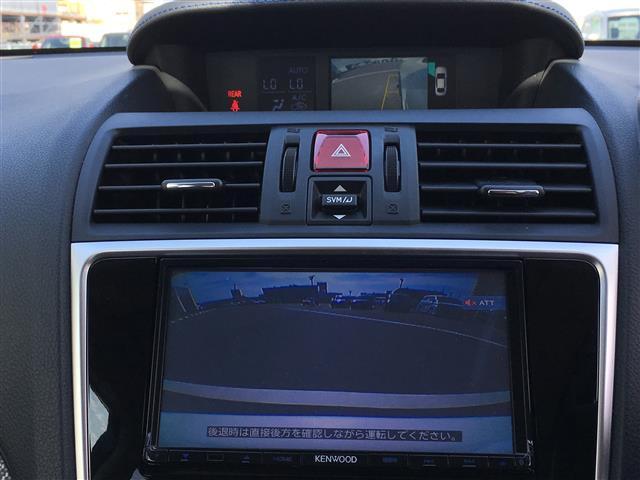 1.6GT-Sアイサイト 社外SDナビ/KENWOOD/フルセグ/BT/DVD/CD/SI-DRIVE/SRVD/アイサイト/パドルシフト/パワーシート/クルーズコントロール/アイドリングストップ/電動パーキング/ETC(12枚目)