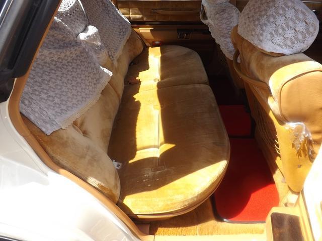2.8ブロアム ビックバンパー 新品ロンシャン15インチアルミ ローダウン パワーシート オートエアコン 希少430ブロアム 実走行93000km(15枚目)