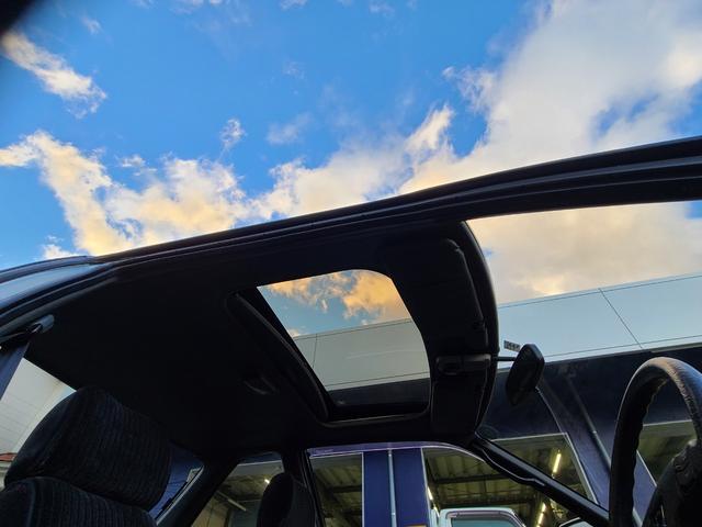 Si  4WS サンルーフ リトラクタブルヘッドライト ドアバイザー フォグランプ 記録簿 禁煙車 走行42000km(17枚目)
