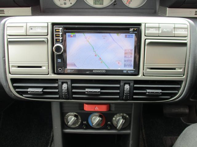 St 4WD ETC KENWOODナビ 撥水加工シート サンルーフ キーレス HIDヘッドライト(30枚目)