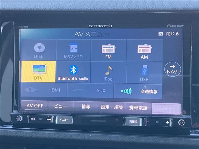 G G's ナビ フルセグ Bluetooth クルーズコントロール LEDヘッドライト ETC エンジンスターター ハーフレザーシート(4枚目)