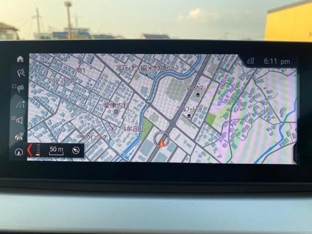 xDrive 18d 4WD ディーゼルターボ 純正ナビ Bluetooth コンフォートアクセス ビルトインETC バックカメラ 衝突軽減ブレーキ 純正17インチAW(6枚目)