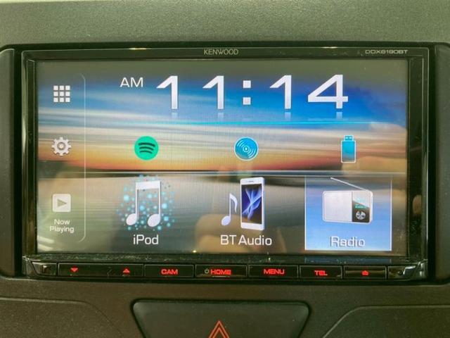L EBD付ABS/アイドリングストップ/エアバッグ 運転席/エアバッグ 助手席/パワーウインドウ/パワーステアリング/FF/マニュアルエアコン/定期点検記録簿 禁煙車 DVD再生 Bluetooth(9枚目)