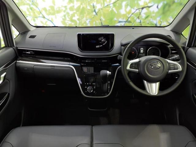 カスタムRSハイパーSA パノラマモニター/LEDヘッド&フォグ/シートヒーター/プッシュスタート/パーキングアシスト バックガイド/ヘッドランプ LED/EBD付ABS/横滑り防止装置/アイドリングストップ ターボ 禁煙車(4枚目)