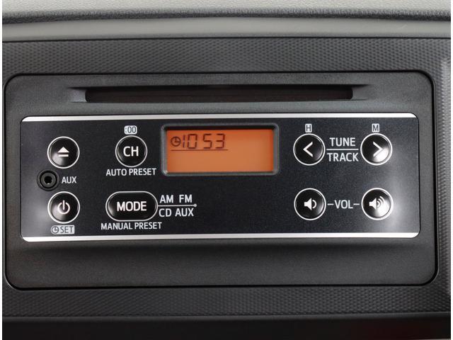 元社用車 4WD CDラジオAUX対応オーディオ装備!!