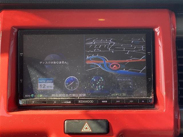 Jスタイル スマートキー プッシュスタート 電動格納ウインカーミラー 純正マット ドアバイザー フロントシートヒーター アイドリングストップ ETC 社外SDナビ フルセグ/USB/BT HIDライト(18枚目)