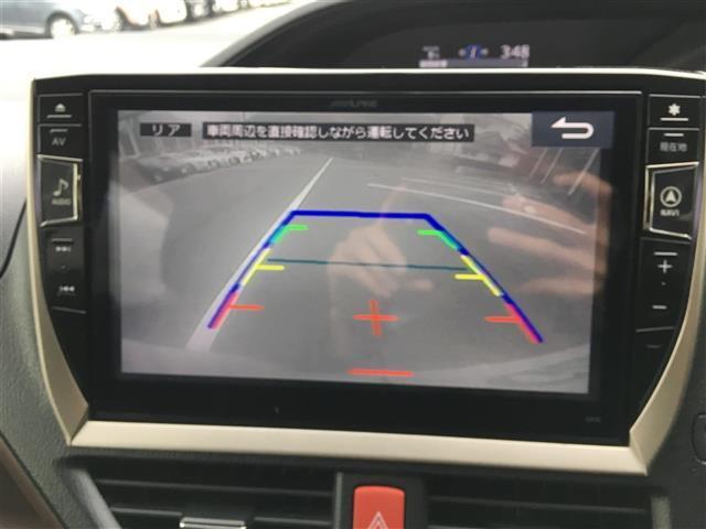 Gi ALPINE10型ナビ/12.8型フリップダウンモニターTV/CD/DVD/BT/Bカメ/両側パワ/クルコン/本革/シートヒーター/コーナーセンサ/LEDヘッドライト/フォグライト/純正15インチAW(4枚目)