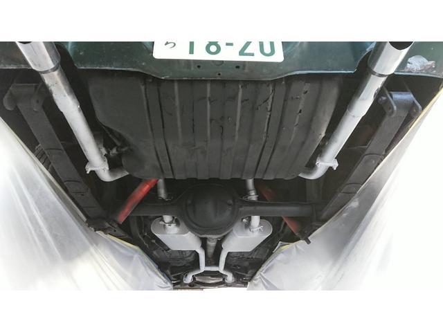 下回り防錆アンダーコート、マフラーも耐熱塗装しました。