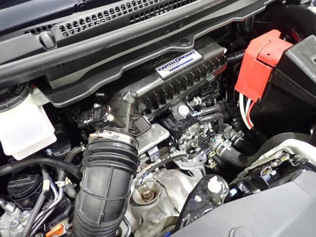 低燃費でパワフル、静かなターボエンジン。