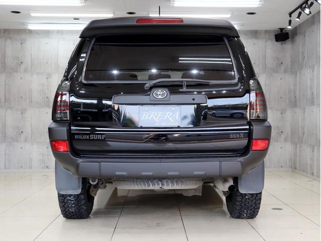 SSR-X サンルーフ 4WD BRERAオリジナルカスタム 新品ホワイトレターオールテレーンタイヤ 新品インナーブラックイカリングライト&LEDテール マットブラック塗り分けペイント HDDナビ ETC(7枚目)