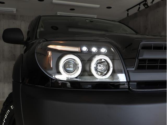 SSR-X サンルーフ 4WD BRERAオリジナルカスタム 新品ホワイトレターオールテレーンタイヤ 新品インナーブラックイカリングライト&LEDテール マットブラック塗り分けペイント HDDナビ ETC(13枚目)