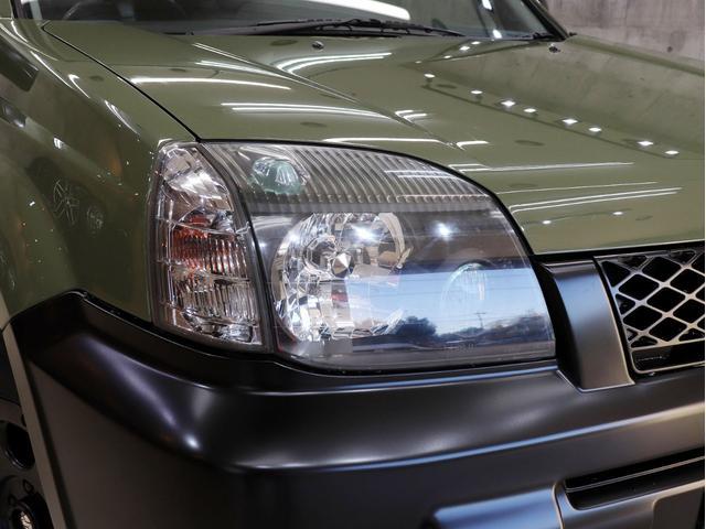 X 4WD BRERAオリジナルカスタム 新品アルミ&新品BFグッドリッチオールテレーンタイヤ インナーブラックヘッドライト マットブラック塗り分けペイント 革シート ナビ ETC バックカメラ キーレス(13枚目)