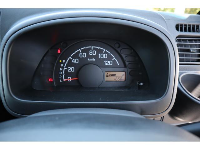 シンプルなスピードメーターとなっており、視認性抜群です。