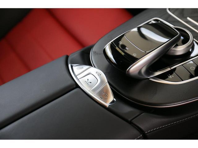 E200 カブリオレ スポーツ レザーパッケージ ワンオーナー 赤内装 純正ナビ フルセグTV 360°カメラ LEDヘッドライト ブルメスタサラウンドシステム 純正19インチアルミホイール ヘッドアップディスプレイ 禁煙車(27枚目)
