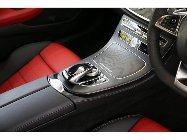 E200 カブリオレ スポーツ レザーパッケージ ワンオーナー 赤内装 純正ナビ フルセグTV 360°カメラ LEDヘッドライト ブルメスタサラウンドシステム 純正19インチアルミホイール ヘッドアップディスプレイ 禁煙車(28枚目)