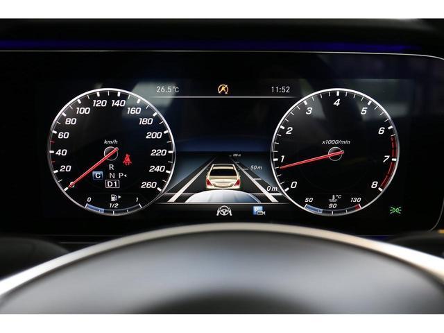 E200 カブリオレ スポーツ レザーパッケージ ワンオーナー 赤内装 純正ナビ フルセグTV 360°カメラ LEDヘッドライト ブルメスタサラウンドシステム 純正19インチアルミホイール ヘッドアップディスプレイ 禁煙車(30枚目)