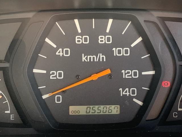 走行55,067Km まだまだ活躍できますね!