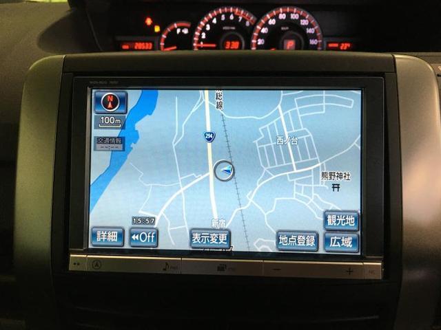 ZS 煌II アルミホイールヘッドランプHID EBD付ABS盗難防止システムETC純正8インチHDDナビTV 定期点検記録簿取扱説明書・保証書 パワーウインドウキーレススライドドア両側電動(9枚目)