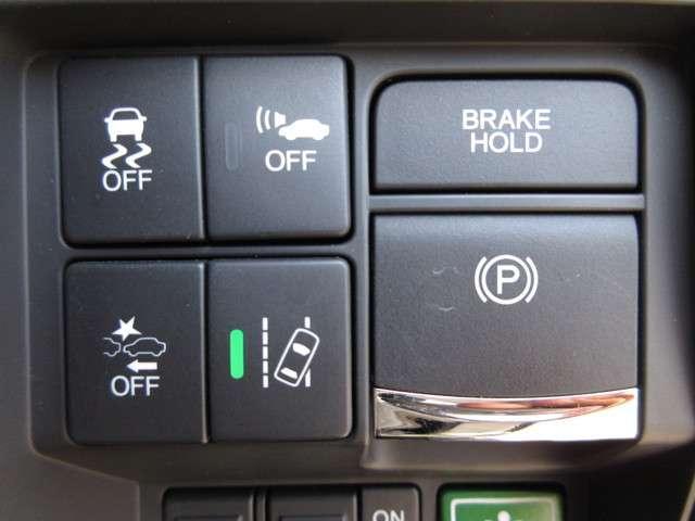 ハイブリッドアブソルート・EXホンダセンシング 認定中古車 衝突被害軽減ブレーキ アダプティブクルーズコントロール ドラレコ メモリーナビ Bカメラ フルセグ 両側電動スライドドア 後席モニター 純正AW LED ETC スマートキー 1オーナー(9枚目)