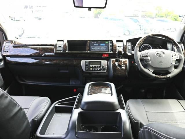 GL ロング 新車未登録 ワゴンGL FLEXオリジナルVer1 パールホワイト 6型 新型 フロントリップ アルミ LEDテールランプ テーブル 床張り SDフルセグ地デジナビ フリップダウンモニター ETC(2枚目)