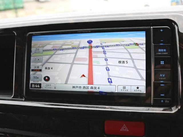 GL ロング 新車未登録 ワゴンGL FLEXオリジナルVer1 パールホワイト 6型 新型 フロントリップ アルミ LEDテールランプ テーブル 床張り SDフルセグ地デジナビ フリップダウンモニター ETC(14枚目)