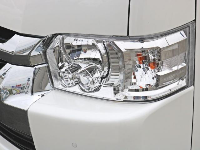 GL ロング 新車未登録 ワゴンGL FLEXオリジナルVer1 パールホワイト 6型 新型 フロントリップ アルミ LEDテールランプ テーブル 床張り SDフルセグ地デジナビ フリップダウンモニター ETC(17枚目)
