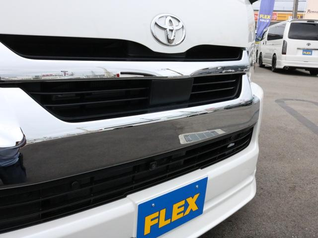 GL ロング 新車未登録 ワゴンGL FLEXオリジナルVer1 パールホワイト 6型 新型 フロントリップ アルミ LEDテールランプ テーブル 床張り SDフルセグ地デジナビ フリップダウンモニター ETC(51枚目)