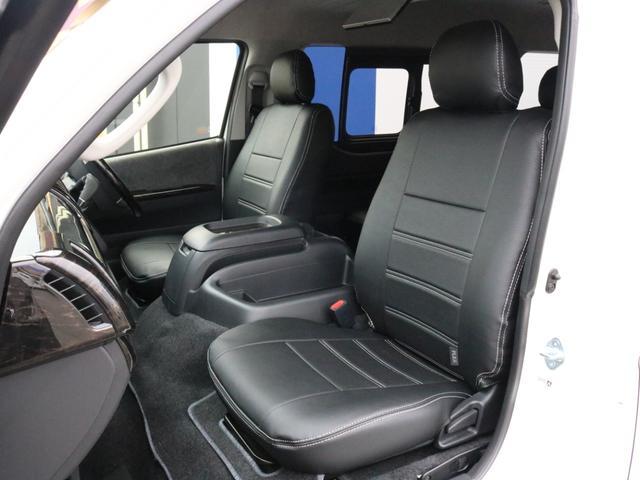 GL ロング 新車未登録 ワゴンGL FLEXオリジナルVer1 パールホワイト 6型 新型 フロントリップ アルミ LEDテールランプ テーブル 床張り SDフルセグ地デジナビ フリップダウンモニター ETC(52枚目)