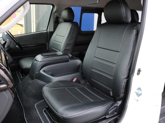 GL ロング 新車未登録 ワゴンGL FLEXオリジナルVer1 パールホワイト 6型 新型 フロントリップ アルミ LEDテールランプ テーブル 床張り SDフルセグ地デジナビ フリップダウンモニター ETC(58枚目)