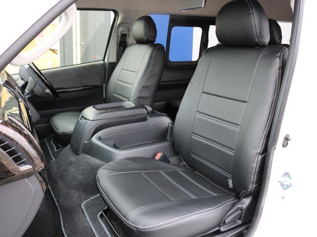 GL ロング 新車未登録 ワゴンGL FLEXオリジナルVer1 パールホワイト 6型 新型 フロントリップ アルミ LEDテールランプ テーブル 床張り SDフルセグ地デジナビ フリップダウンモニター ETC(59枚目)
