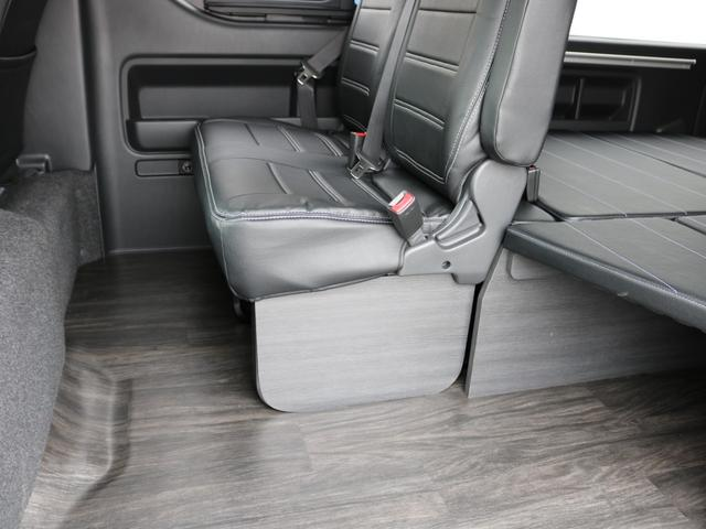 GL ロング 新車未登録 ワゴンGL FLEXオリジナルVer1 パールホワイト 6型 新型 フロントリップ アルミ LEDテールランプ テーブル 床張り SDフルセグ地デジナビ フリップダウンモニター ETC(60枚目)