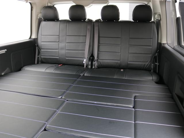 GL ロング 新車未登録 ワゴンGL FLEXオリジナルVer1 パールホワイト 6型 新型 フロントリップ アルミ LEDテールランプ テーブル 床張り SDフルセグ地デジナビ フリップダウンモニター ETC(62枚目)
