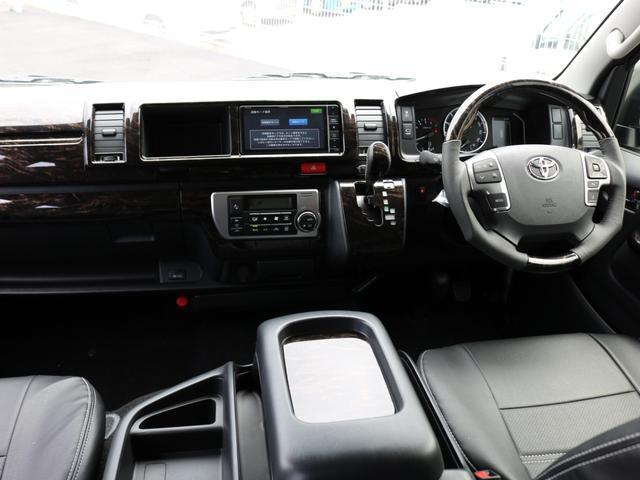GL ロング 新車未登録 ワゴンGL FLEXオリジナルVer1 パールホワイト 6型 新型 フロントリップ アルミ LEDテールランプ テーブル 床張り SDフルセグ地デジナビ フリップダウンモニター ETC(66枚目)