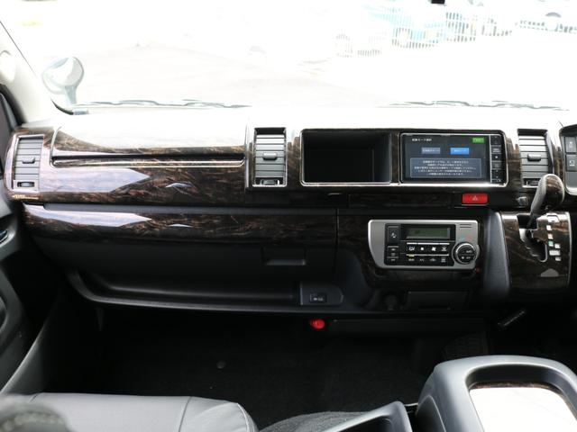 GL ロング 新車未登録 ワゴンGL FLEXオリジナルVer1 パールホワイト 6型 新型 フロントリップ アルミ LEDテールランプ テーブル 床張り SDフルセグ地デジナビ フリップダウンモニター ETC(67枚目)
