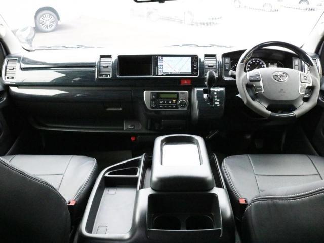 GL ロング 未登録新車 FLEXシートアレンジVer2 6型ホワイトパール エアロフロントリップ テールランプ テーブル 床張り施工 ETC フルフラット 車中泊ベッドキット ベンチシートパワースライド カスタム(2枚目)