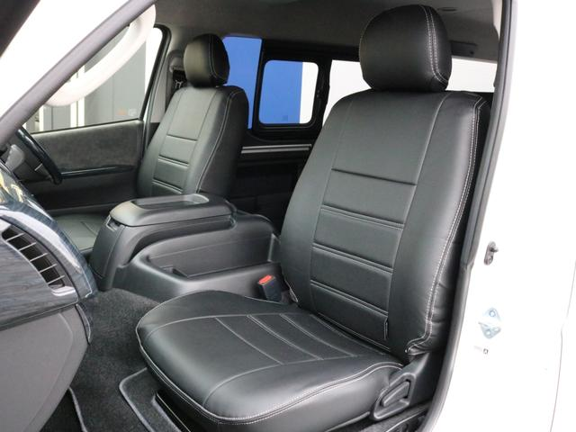 GL ロング 未登録新車 FLEXシートアレンジVer2 6型ホワイトパール エアロフロントリップ テールランプ テーブル 床張り施工 ETC フルフラット 車中泊ベッドキット ベンチシートパワースライド カスタム(52枚目)