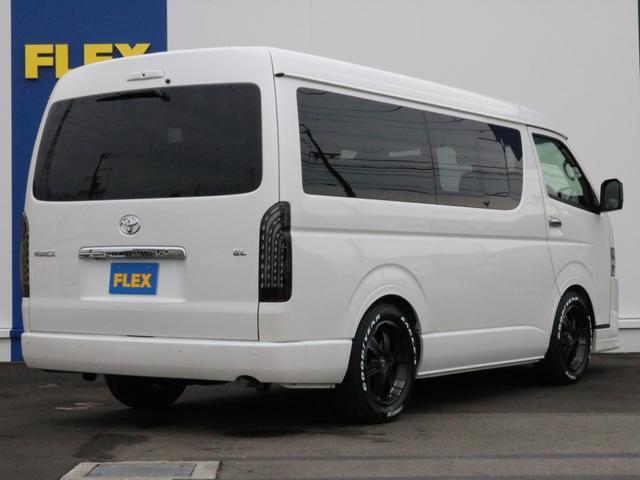 GL ロング 未登録新車 FLEXシートアレンジVer2 6型ホワイトパール エアロフロントリップ テールランプ テーブル 床張り施工 ETC フルフラット 車中泊ベッドキット ベンチシートパワースライド カスタム(67枚目)